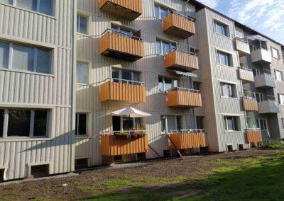 Fasadrenovering Brf Sofieborg