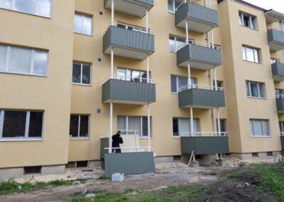 Fasadrenovering / Balkongrenovering